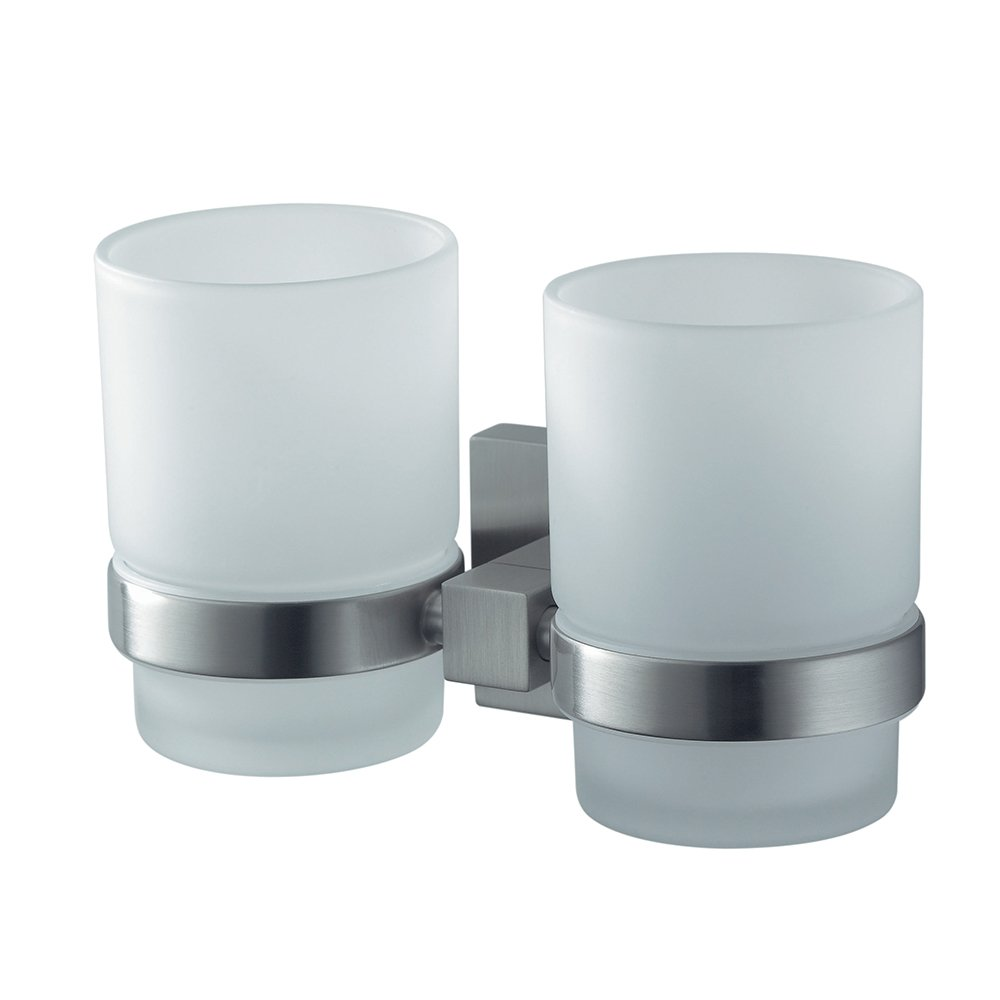 Haceka Mezzo Tec Papierrollenhalter Papierhalter Metall gebürstet Rostfrei