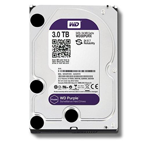 【送料無料/即納】  WD Purple 64MB 3TB Surveillance Hard - Disk Drive - WD30PURX 5400 RPM Class SATA 6 Gb/s 64MB Cache 3.5 Inch - WD30PURX [並行輸入品] B01JVX3RPQ, ナミノソン:1c64df3e --- a0267596.xsph.ru