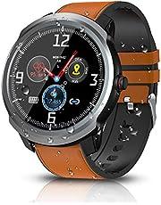 BYTTRON Smart Watch, Bluetooth Smartwatch Fitness Tracker IP68 Activity Tracker Impermeabili Con GPS Sport Record Contapassi Cardiofrequenzimetro Monitor Per il Sonno Per Donne Uomini (Argento)