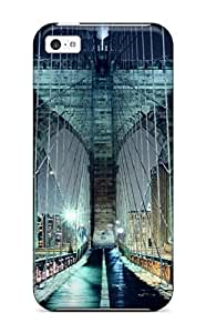 Hot Tpye Brooklyn Bridge Walkway Case Cover For Iphone 5c