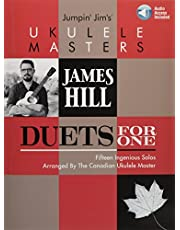 Jumpin' Jim's Ukulele Masters: James Hill: Duets for One