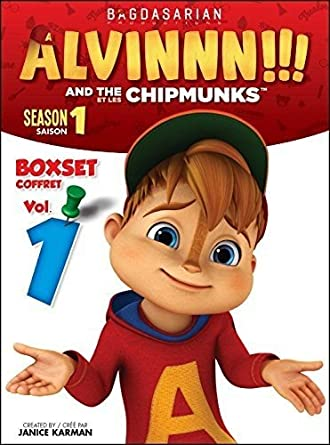 Amazon Com Alvin The Chipmunks Boxset 1 Season 1 Vol 1