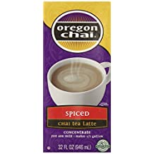 Oregon Chai Spiced Chai Tea Latte Concentrate, 32 Ounce by Oregon Chai