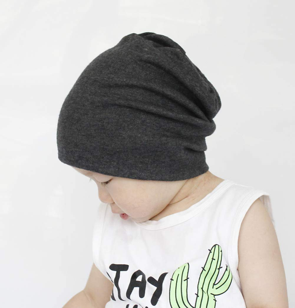 Qandsweet Baby Boy's Hat Kids Cool Knit Beanie Hats Toddlers Caps (4 Pack Boy) by QandSweet (Image #1)