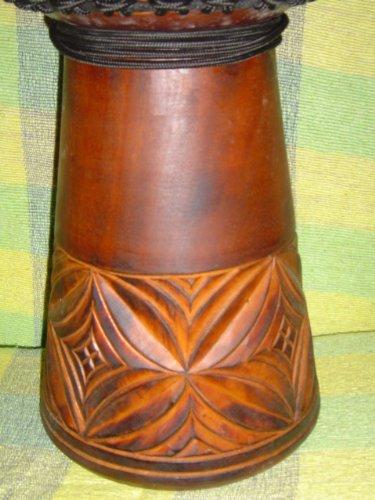 Beautiful 24'' X 14'' Djembe Deep Carved Hand Drum Bongo - Model # 60m15