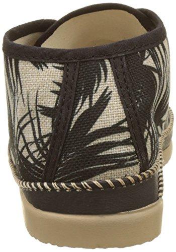 ... Ippon Vintage Damen Smile-Wind Desert Boots Noir (Palm) ...