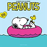Graphique Peanuts Happiness is Wall Calendar - 16-Month 2019 Calendar, 12''x12'' w/ 3 Languages, 4-Month Preview, Marked Holidays
