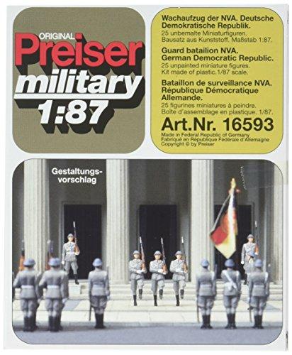 - Preiser 16593 Former East German Army (NVA) Post 1945 Package(21) HO Scale Military Model Figure