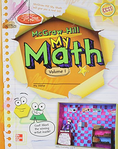 My Math, Grade 3, Vol. 1 (ELEMENTARY MATH CONNECTS) from McGraw-Hill Inc.,US