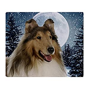 "CafePress Collie Soft Fleece Throw Blanket, 50""x60"" Stadium Blanket 19"