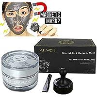 Masque facial minéral Visage riche en minéraux Pore Nettoyage en profondeur élimine les impuretés de la peau avec de la boue nettoyante, revitalisant Age-Defier magnétique, 50 ml