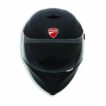 Ducati oscuro RIDER V2 casco casco de la moto de de color negro mate