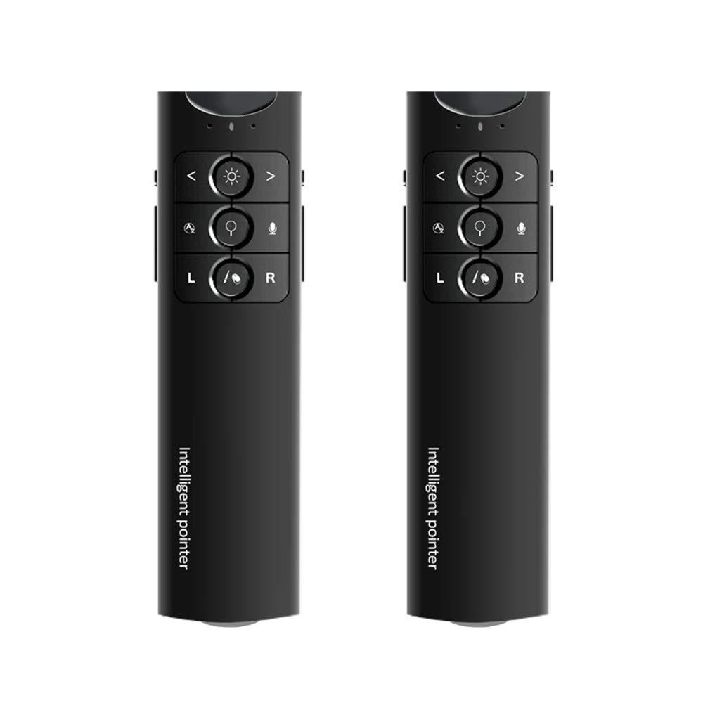 XMDFY 2019 Upgrade Portable Smart Multi-Language Synchronization Translator,Multifunction Wireless Presenter,PPT Controller Presentation Remote Control Pointer USB Mouse Clicker Flip Pen,Two