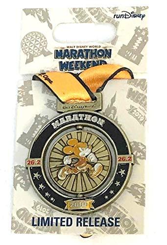 Medal Disney Pin - Disney Marathon Weekend 2019 Mickey Mouse 26.2 Medal Pin