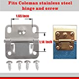 ZKP Coleman Cooler Stainless Steel Hinge and Screw