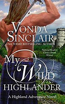 My Wild Highlander (Highland Adventure Book 2) by [Sinclair, Vonda]