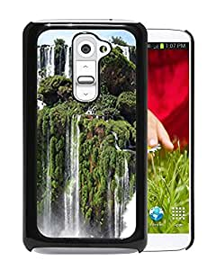 New Custom Designed Cover Case For LG G2 With Iguazu Falls Nature Mobile Wallpaper Phone Case
