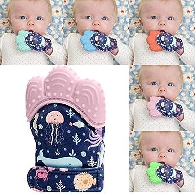 BABY FFM 2 Pack Bebé Dentición Manopla Chupete Guante Bebé De ...