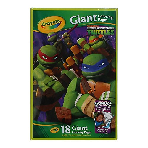 Crayola Teenage Mutant Turtles Coloring
