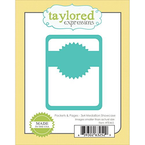 Taylored Expressions Die-Pockets and Pages-Medallion Showcase, 3 by 4-Inch (Grand Caliber Die Cutting Machine compare prices)