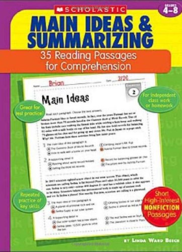 Main Ideas & Summarizing