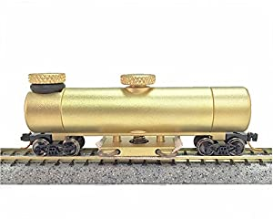 CMX N Scale Brass Clean Machine Track Cleaning Car w/10 Pads