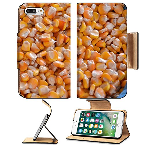 Cute Snack Ideas For Halloween (Liili Premium Apple iPhone 7 Plus Flip Pu Leather Wallet Case Picture of corn on a local market 28265170)