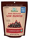 Natierra, Himalania Dark Chocolate Goji Berries, 6 Ounce