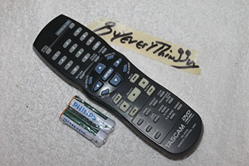 - TASCAM 9A10550900 RC-D01U GENUINE ORIGINAL REMOTE-TESTED-WITH FRESH BATTERIES- SOLD BY BUYEVERYTHINGGUY