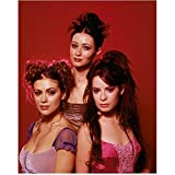 Charmed Rose McGowan, Holly Marie Combs, Alyssa Milano with Messy Hair 8 x 10 Inch Photo