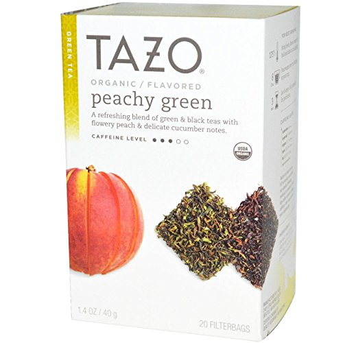 Tazo Organic Peachy Green Pack product image