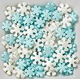 Wilton 710-2094 Sprinkles Pearlized Snowflakes Sprinkles
