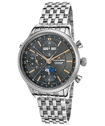 maurice-lacroix-lc6078-ss002-331-mens-les-classiques-auto-chrono-stainless-steel-gunmetal-dial-watch