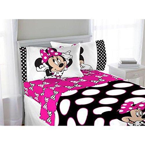 80%OFF Disney Minnie Mouse Complete Bedding Comforter Set ...
