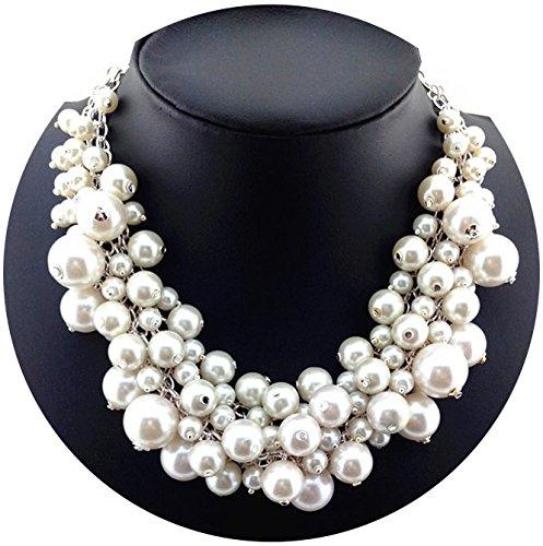 Designer Kette Statement Halskette Outfit Abendkette