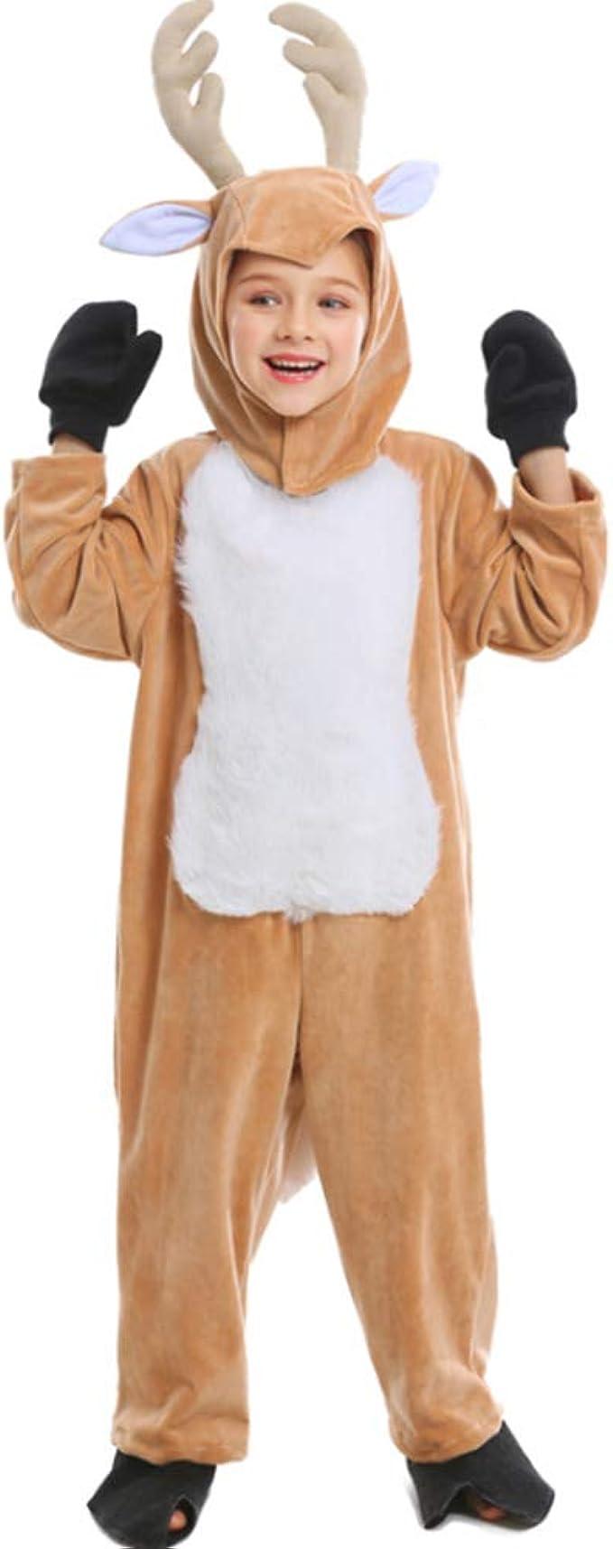 La Fiesta de Navidad del Traje de Pijama de Felpa Ciervos Elk ...