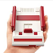 S-NES 8 Bit Cable Classic mini Family Computer,Famicom,Family Video Game Console with AV of tv,Built 500-in-1 classic games,Two Game Controller(30th anniversary mini commemorative models)