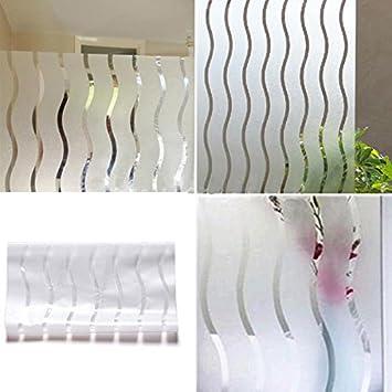 bargain world pelculas para ventanas de vinilo esmerilado vidrieras de papel ondulado que cubre privacidad