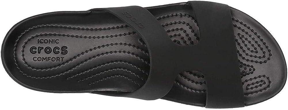 Crocs Womens Serena Slide W Heels Sandals