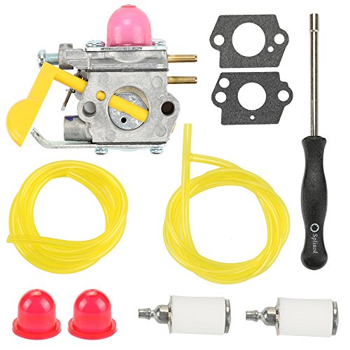 Harbot C1U-W18 Carburetor Adjustment Tool+Fuel Filter Line for Poulan Craftman Weed Eater Featherlite SST25 FL20 FL20C FL23 FL26 FX26S FX26SC MX550 MX557 P1500 P2500 P3500 SST25C Trimmer by Harbot