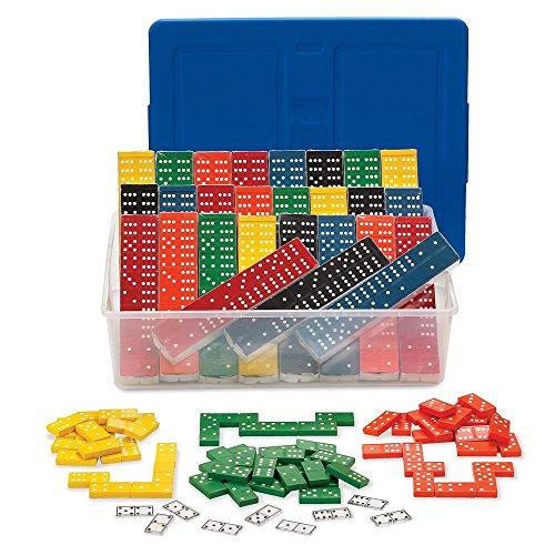 - hand2mind Wood Dominoes Classroom Kit (Set of 15)