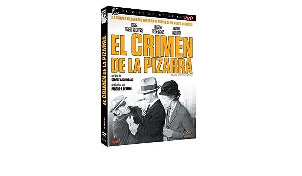 Cine Negro RKO: El Crimen De La Pizarra [DVD]: Amazon.es: Edna May Oliver, James Gleason, Bruce Cabot, George Archainbaud, RKO: Cine y Series TV