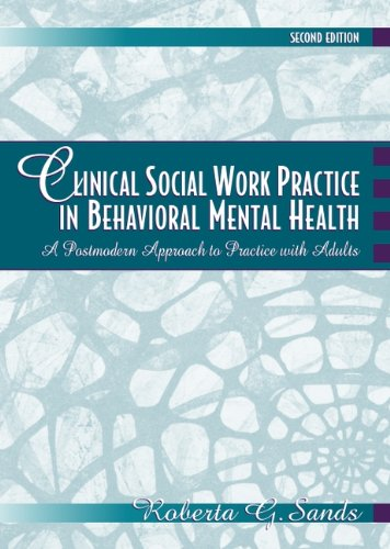 mental health social work practice in canada 2nd edition pdf