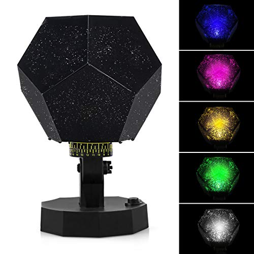 Night Light Cosmos Star Projector Star Projector Star Lights Projector Night Light Constellation Planetarium Projector Star Lights for Bedroom (AS) ()