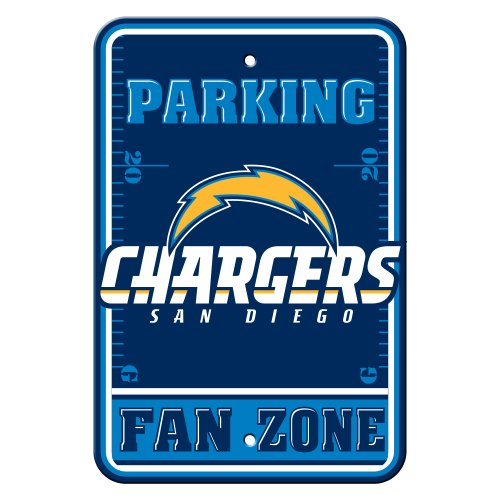 NFL San Diego Chargers Plastic Parking Signs
