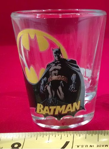 Fraternity Party Halloween Costumes (Toon TumblerTM: BATMAN (DC) Collectible Mini-glass (Shot Glass))