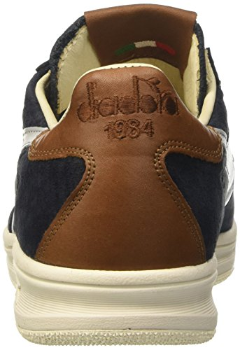 tumblr cheap online buy cheap high quality DIADORA heritage B.ELITE ITA Leather Blue Mens Trainers Blu (Outer Space) discount outlet store cheap great deals enjoy cheap price wKqSlyl