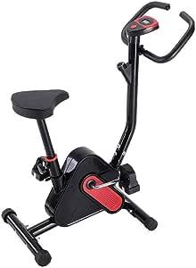 Bicicleta estática Vertical ultrasilenciosa, Asiento Ajustable y Monitor de corazón. Máquina de Ejercicio hogar para Entrenamiento Cardiovascular, Spinning, Ciclismo, Fitness, Ciclismo, US Stock: Amazon.es: Hogar