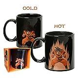 Niebc Collectible Color Changing Heat Reactive Mug Dragon Ball Z DBZ Saiyan Dragonball (Goku)