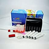 ecocolor CISS Continuous ink system FOR CANON Cartridge PGI 250 CLI 251 5PCS for IP7220 MG5420 MX722 MX922 MG5420 IX6820 MG5520